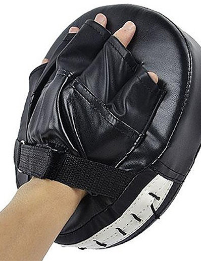 cheap SPORTSWEAR-Boxing and Martial Arts Pad Boxing Pad Focus Punch Pads PU Leather Foam Athletic Training Strength Training Protective Gear Taekwondo Boxing Karate For Men's