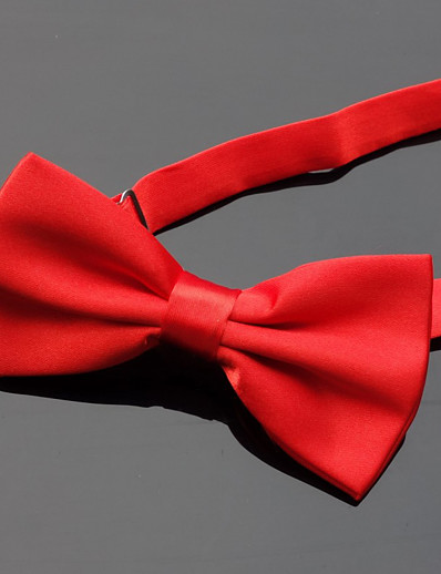 cheap Men's Accessories-Men's Party / Basic Bow Tie - Solid Colored
