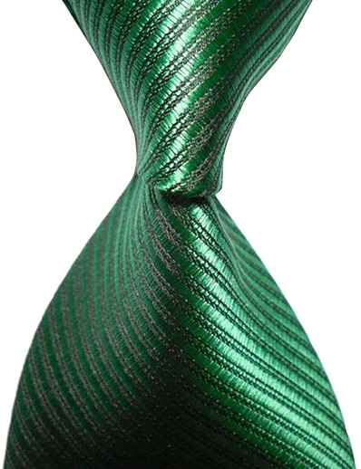 cheap MEN'S FASHION-Men's Party / Work / Basic Necktie - Striped