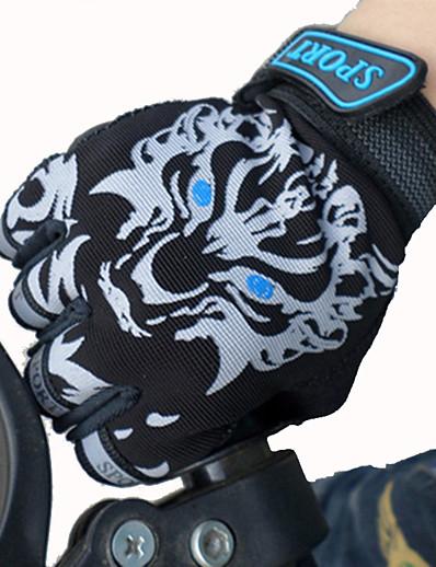 cheap Ski & Snowboard-Bike Gloves / Cycling Gloves Ski Gloves Boys' Girls' Kid's Snowsports Fingerless Gloves Anti-skidding Canvas Cycling / Bike