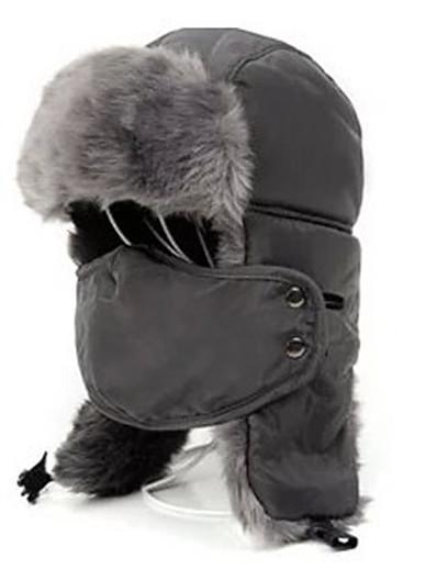 cheap Ski & Snowboard-Ski Pollution Protection Mask / Hat Chapka Hat Fur Hat Men's / Women's Thermal / Warm Snowboard Fleece / Polyester Winter Sports Winter