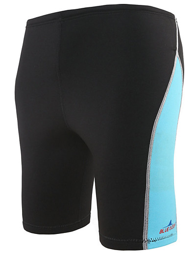 cheap Surfing, Diving & Snorkeling-Bluedive Men's Wetsuit Shorts 1.8mm Neoprene Bottoms Thermal / Warm Quick Dry Swimming Diving Surfing Patchwork