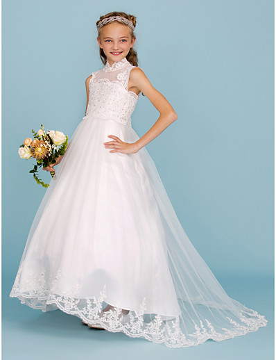 Satin Junior Bridesmaid Dresses