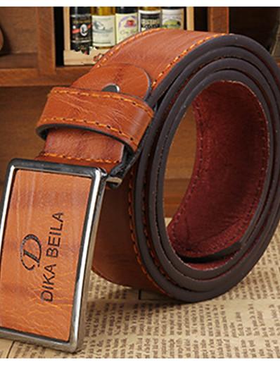 cheap Men's Accessories-Men's Party / Work / Active Waist Belt - Solid Colored