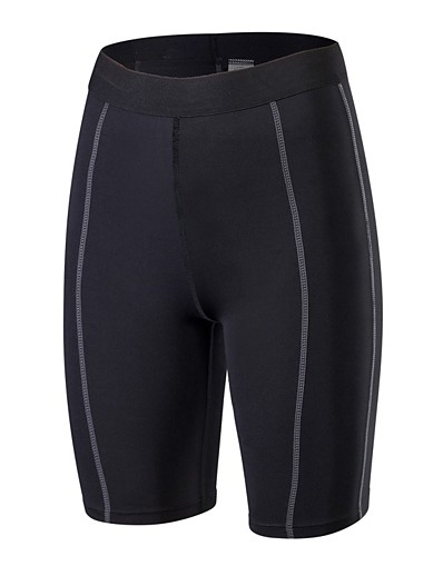 cheap Running, Jogging & Walking-YUERLIAN Women's Sports Underwear Compression Shorts Sports & Outdoor Shorts Compression Clothing Leggings Exercise & Fitness Quick Dry Breathability Sport Solid Colored White Black Blue Green