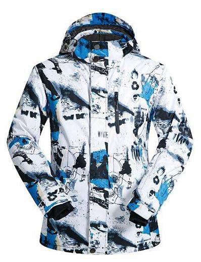 cheap Ski & Snowboard-Men's Ski Jacket Ski / Snowboard Winter Sports Waterproof Windproof Breathable Rayon Terylene Winter Jacket Top Ski Wear / Warm