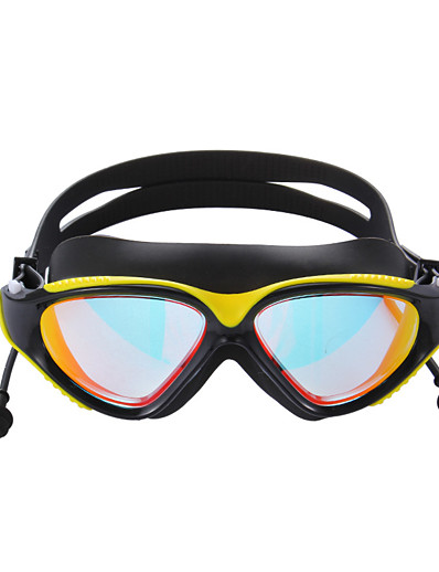 cheap SPORTSWEAR-Swimming Goggles Waterproof Anti-Fog UV Protection Mirrored Plated For Adults' Silicone PC N / A Transparent