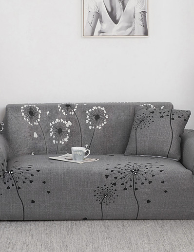 cheap Home & Garden-Stretch Sofa Cover Slipcovers Dandelion Pattern Armchair Loveseat Replacement Soft Furniture Protector Fit forArmchair/Loveseat/Three Seater/Four Seater/L shaped sofa