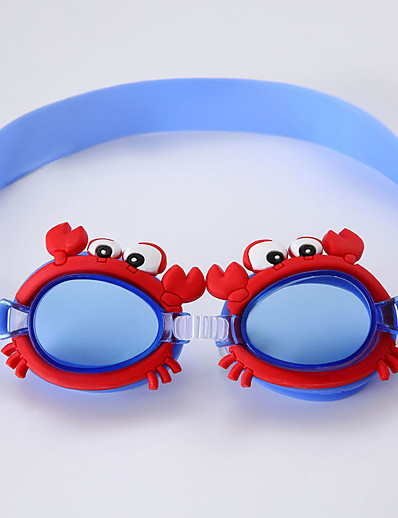 cheap SPORTSWEAR-Swimming Goggles Portable Lightweight Anti-Fog For Kid's PC PC Transparent