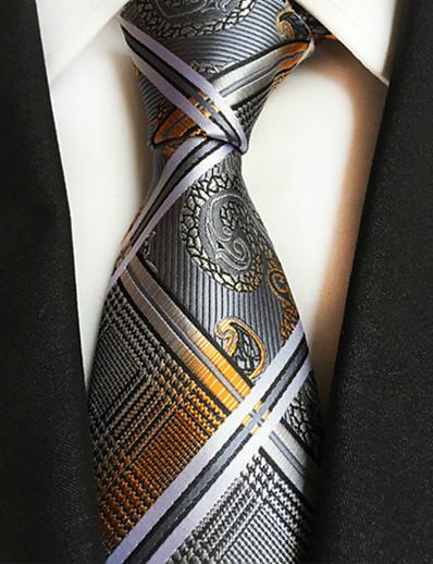 cheap Men's Accessories-Men's Party / Work Necktie - Jacquard