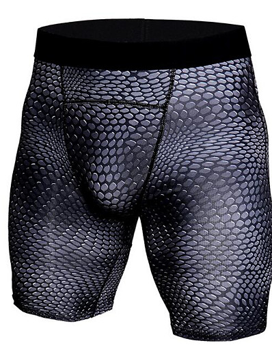 cheap Running, Jogging & Walking-JACK CORDEE Men's Sport Briefs Running Tight Shorts Sport Shorts Underwear Shorts Briefs Elastane Fitness Gym Workout Exercise & Fitness Running Breathable Quick Dry Sport Solid Colored Black / Red