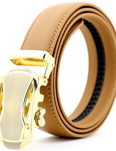 cheap Belt-Men's Basic Waist Belt - Solid Colored
