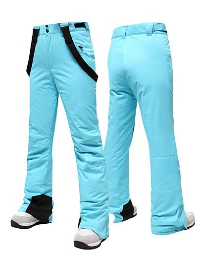 cheap Ski & Snowboard-Men's Women's Ski / Snow Pants Snowboarding Warm Wearable Polyster Bib Pants Ski Wear / Solid Colored