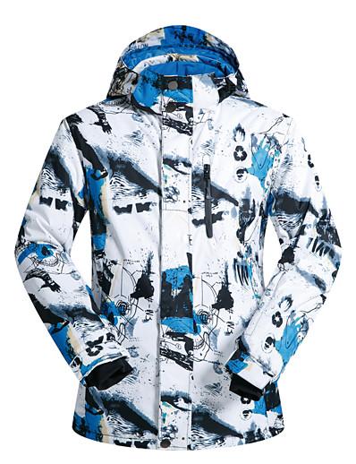 cheap Ski & Snowboard-MUTUSNOW Men's Waterproof Windproof Warm Skiing Ski Jacket Snow Jacket Winter Jacket for Skiing Snowboarding Winter Sports / Fashion