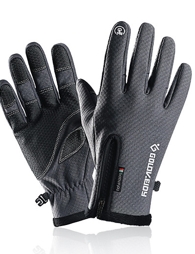 cheap Running, Jogging & Walking-Winter Gloves Running Gloves Anti-Slip Touchscreen Thermal Warm Full Finger Gloves Men's Women's Cold Weather Hiking Running Driving Cycling Texting Winter / Lightweight