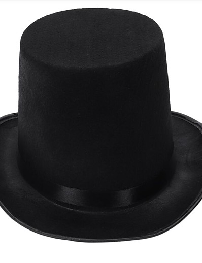 cheap Men's Accessories-Unisex Work Basic Cotton Wool Blends Bucket Hat-Solid Colored All Seasons Black