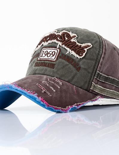 preiswerte Herrenmode Accessoires-Damen Baseball Kappe Normal Alltag Einfarbig Stoff Hut