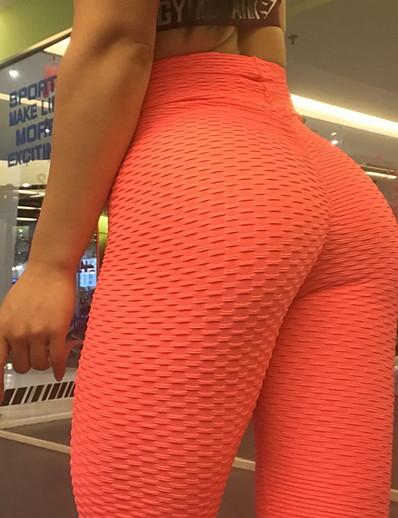 abordables Bas pour femmes-Femme Sportif Joggings Pantalon Couleur Pleine Blanche Noir Bleu Violet Rouge