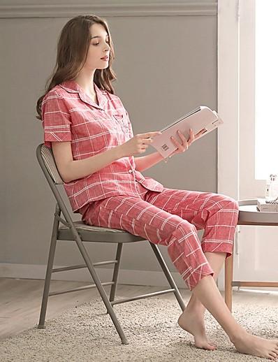 cheap Pajamas-Women's Suits Nightwear Blushing Pink XL
