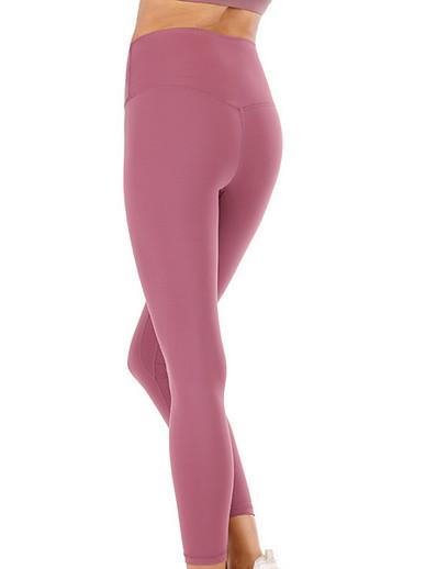 cheap CLOTHING-Women's Sporty Sweatpants Pants - Solid Colored Wine Purple Dusty Rose S M L