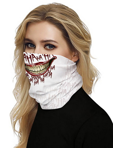 cheap HALLOWEEN 2020-Women's Bandana Balaclava Neck Gaiter Neck Tube UV Resistant Quick Dry Lightweight Materials Cycling Polyester for Men's Women's Adults / Pollution Protection / Floral Botanical Sunscreen / High Breat