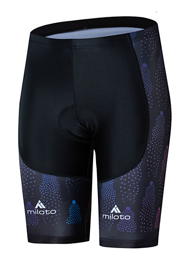cheap Cycling-Miloto Women's Cycling Shorts Bike Shorts Bottoms UV Resistant Quick Dry Sports Black / Blue Mountain Bike MTB Road Bike Cycling Clothing Apparel Race Fit Bike Wear / Stretchy