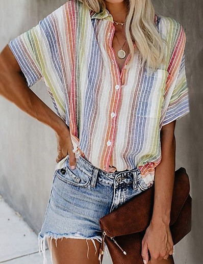 cheap TOPS-Women's Summer Loose Shirt
