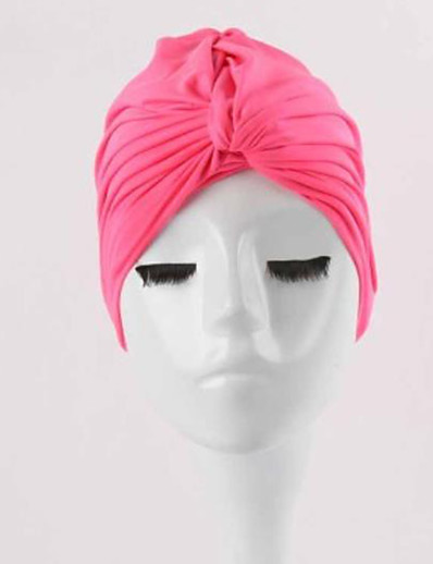 cheap Surfing, Diving & Snorkeling-Swim Cap for Adults Polyester / Polyamide Breathability Soft Stretchy Swimming Surfing