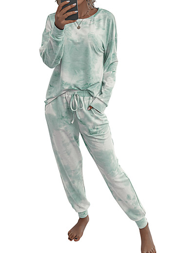 cheap Pajamas-Women's Spandex S Blue