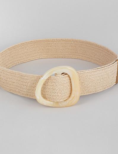 cheap Belt-Women's Vintage Waist Belt - Color Block