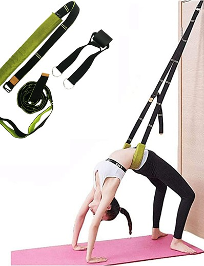 cheap SPORTSWEAR-Yoga Strap Sports Polyester / Cotton Blend Yoga Pilates Stretchy Adjustable D-Ring Buckle Stretching Physical Therapists For Unisex