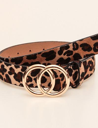 cheap Belt-Women's Work Skinny Belt - Polka Dot
