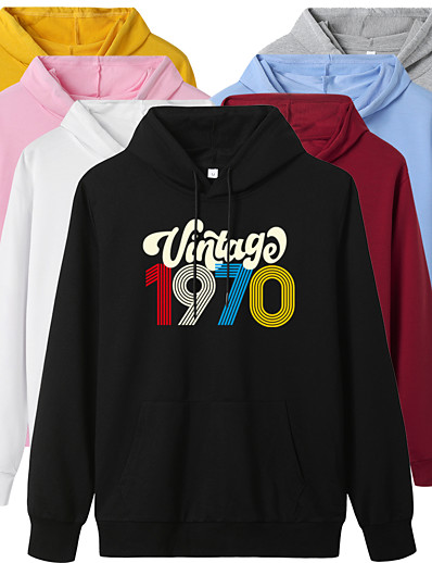 cheap Hoodies & Sweatshirts-Women's Pullover Hoodie Sweatshirt Graphic Daily Casual Basic Hoodies Sweatshirts  White Black Blue
