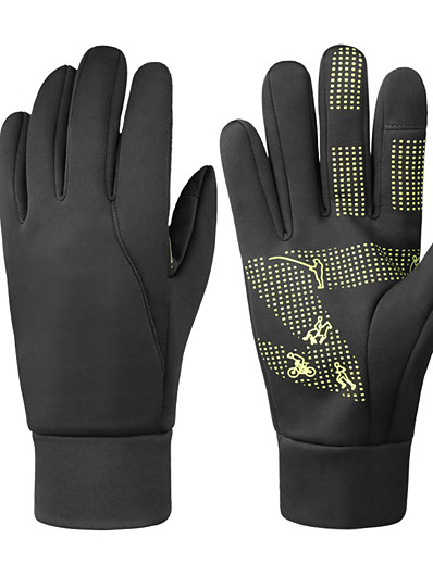 cheap SPORTSWEAR-Mens Winter Thermal Gloves Touch Screen Glove Water Resistant Windproof Warm for Driving Cycling Running
