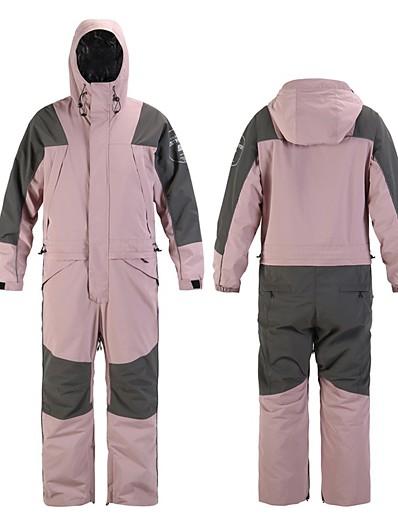 cheap SPORTSWEAR-Women's Ski Suit Skiing Snowboarding Winter Sports Waterproof Windproof Warm 100% Polyester Clothing Suit Ski Wear