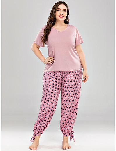 abordables Pyjamas-Femme Polyester Costumes XL Jaune