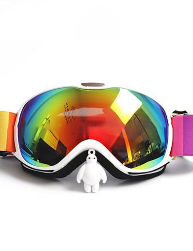 cheap Ski & Snowboard-BASTO Ski Goggles for Adults' Winter Sports Waterproof Adjustable Size