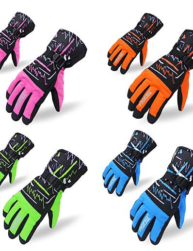 cheap Ski & Snowboard-ASIR® Women's Men's Skiing Snowsports Snowboarding Waterproof Warm Ski Wear / Winter / Full Finger Gloves