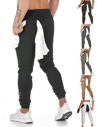 cheap Running, Jogging & Walking-sweatpants for men gym pants men jogger pants for men athletic pants for men classic fit jogging pants khaki