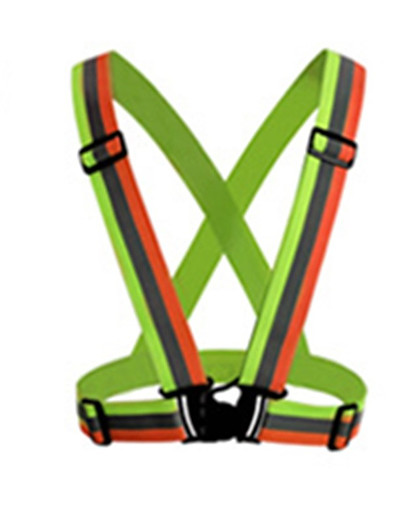 cheap SPORTSWEAR-Reflective Vest Safety Vest Running Gear Adjustable Breathable Durable Class 2 High Visibility Reflective Strip Portable Lightweight Comfy Versatile for Running Cycling / Bike Jogging Dog Walking Men