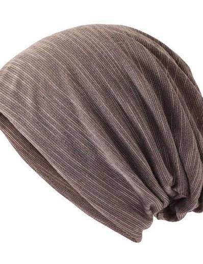 abordables NOUVELLE DANS-Unisexe Chapeau protecteur Coton basique - Bloc de Couleur Printemps Automne Noir Bleu Kaki