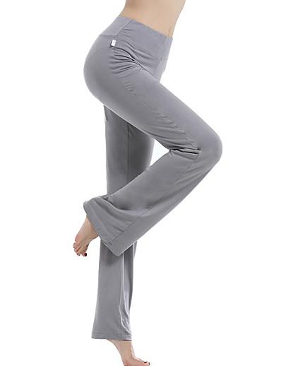 abordables Pantalons et Jupes Femme-Femme Taille haute Pantalon de yoga Respirable Rose Dragée Noir Violet Fitness Exercice Physique Pilates Hiver Des sports Tenues de Sport Elastique