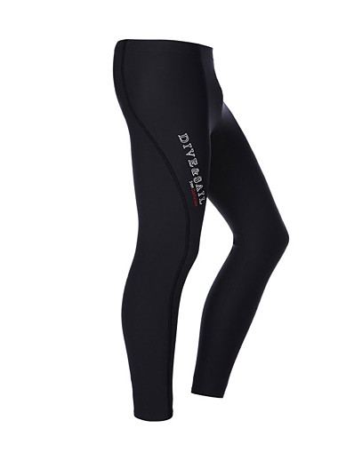cheap Rash Guards-Dive&Sail Women's Wetsuit Pants 3mm Nylon CR Neoprene Diving Suit Bottoms Thermal Warm Anatomic Design High Elasticity Long Sleeve Diving Water Sports Patchwork Autumn / Fall Spring Winter