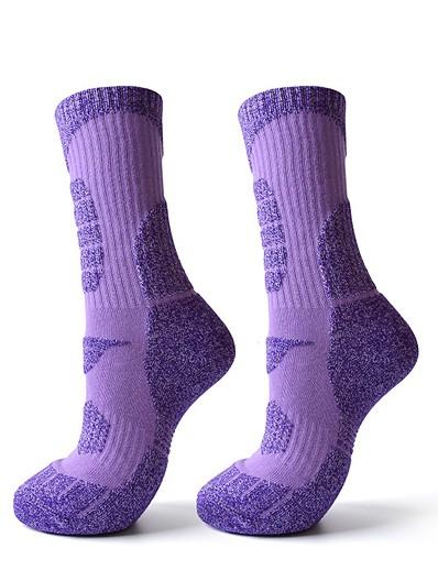 cheap Ski & Snowboard-R-BAO Women's Cushion Breathability High Elasticity Softness Athletic Sports Socks Ski Socks Autumn / Fall Ankle Socks for Camping / Hiking Hunting Ski / Snowboard Running / Winter / Cotton