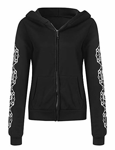 cheap Outerwear-women gothic-hoodie witchcraft punk-cardigan-jacket - waist rope hoodie jacket top long sweatshirt