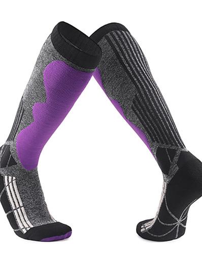 cheap Ski & Snowboard-Men's Softness Heat Retaining Ski Socks Winter Socks for Ski / Snowboard Winter Sports / Cotton / Women's / Patchwork