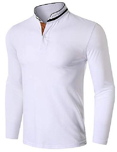 abordables Tops-Chemise de golf chemises de golf Hauts Coton Blanche Noir Bleu Marine