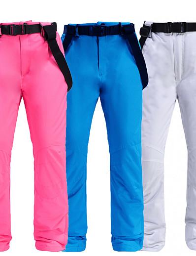 cheap Ski & Snowboard-Men's Ski / Snow Pants Skiing Camping / Hiking Snowboarding Thermal Warm Waterproof Windproof 100% Polyester Space Cotton Bib Pants Ski Wear / Winter