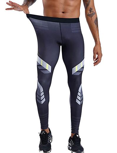 abordables Course à pied, jogging et marche-pantalons de compression pour hommes, collants de sport frais et secs, sous-vêtements, leggings de course, pantalons de yoga, collants de sport (noir rouge, s)