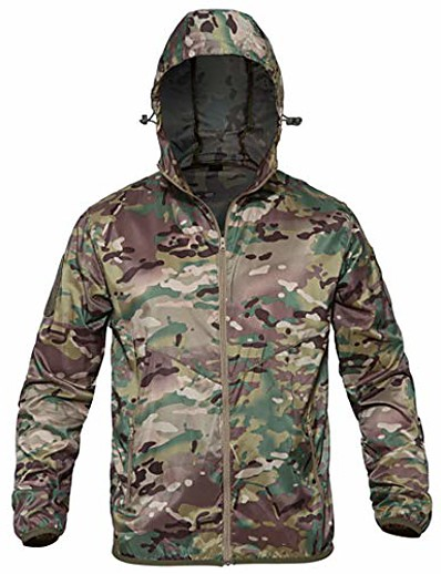 cheap Hunting Clothing-thin army military jackets lightweight quick dry jacket tactical skin jacket cp camo s